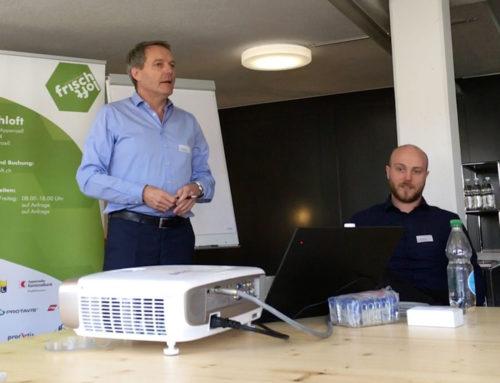 Frischloft-Zmittag «Schütze deine Unternehmensdaten»